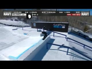 X Games Aspen 2017 Mens Snowboard SlopeStyle