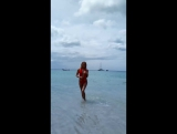 Лиза Вдовина. Бэкстейдж фотосессии на Пхукете. Пляж Фридом