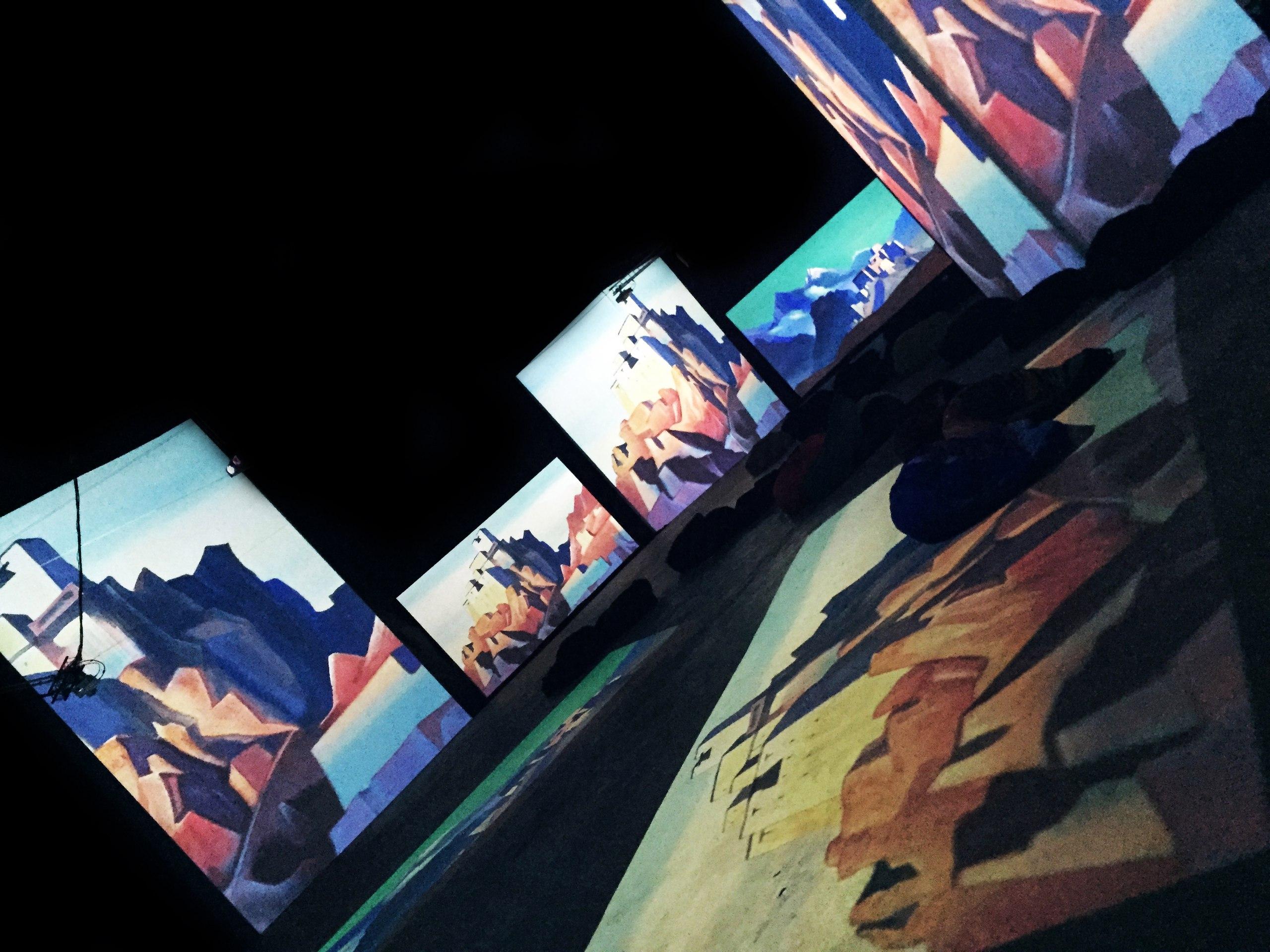 санкт петербург выставка живые полотна рериха