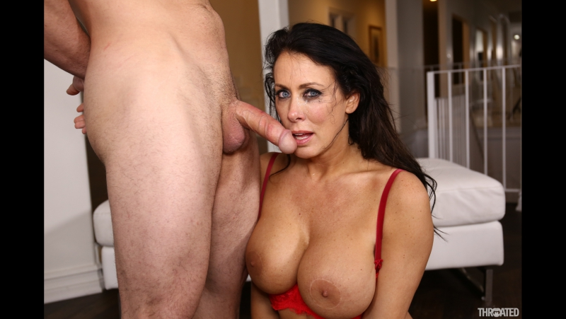 Reagan Foxx (Reagan Foxx's First Facefuck)[2017 HD New Porno, Gagging, Big Tits, Face Fuck, MILF, Monster Cock, Порно, 1080p]