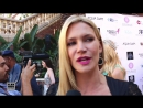 Natasha Henstridge Red Carpet Interview at Miss West Coast Pageant 2014.