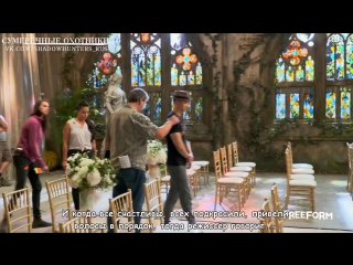 Shadowhunters Behind the Scenes (Making Episode 12) [Rus Sub]