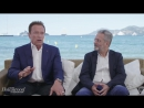Arnold Schwarzenegger, Jean-Michel Cousteau More on Wonders of the Sea 3D _ Cannes 2017