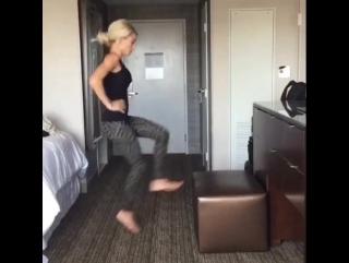 Тренировка в отеле