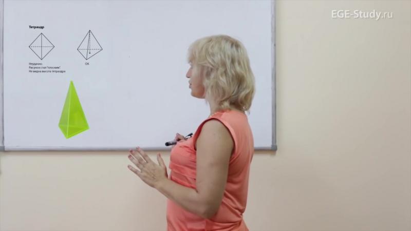 ЕГЭ. Как ПРАВИЛЬНО чертить чертежи по стереометрии
