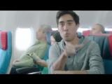 Зак Кинг в ролике авиакомпании Turkish Airlines