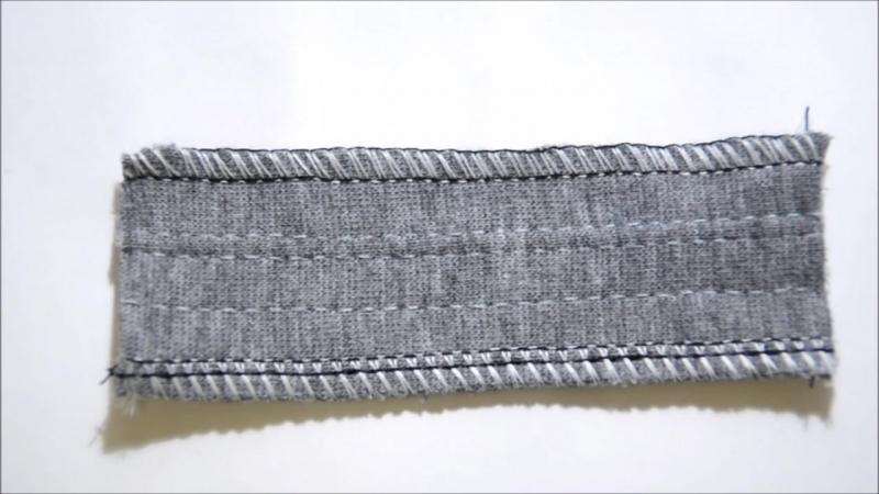 Для чего нужна текстурированная нить или как шов на оверлоке сделать мягче