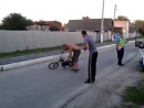 ДПС ГИБДД описались от смеха, the police crying from laughter