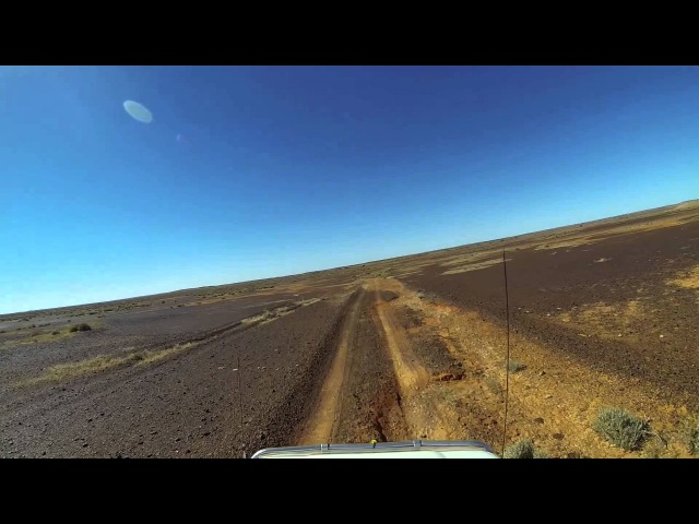 Video 435 - Abminga Sidings towards Mt Dare via Colson Dam