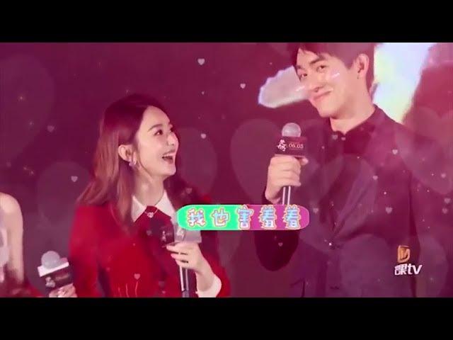 Triệu Lệ Dĩnh x Lâm Canh Tân nhìn nhau say đắm, cười ngọt ngào mọi lúc mọi nơi