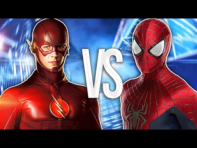 СУПЕР РЭП БИТВА: Флеш VS Человек Паук (FLASH Против SPIDER MAN)