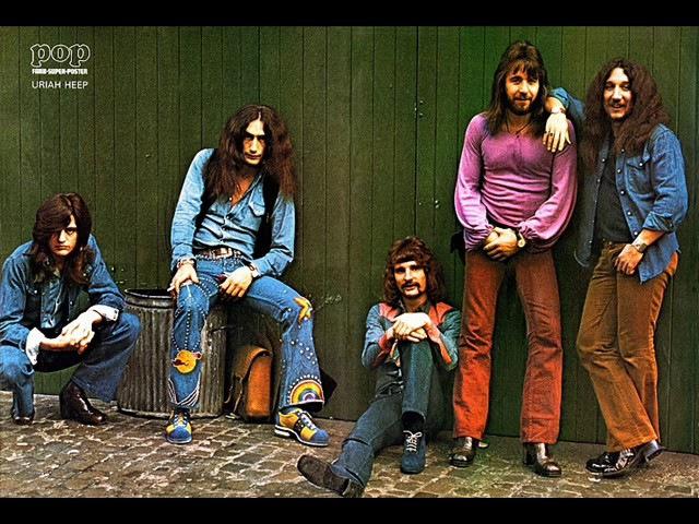 Герои вчерашних дней - группа Uriah Heep /1970-1975 гг./