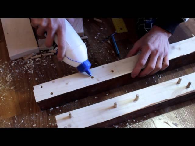 Как я кровать делал Деревянная кровать своими руками