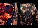 Лучшие татуировки для парней и мужчин. На спине, рукава, на кистях, на животе, на груди и на ногах.