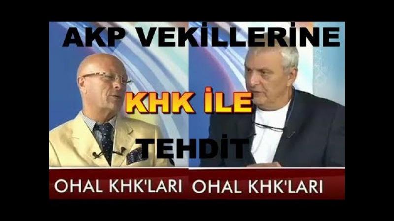 Demokrasiye ihanet !! Saraydan AKPli vekillere tehdit gibi KHK-Erol MÜTTERCİMLER