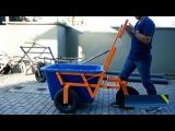 Строительная тележка для перевозки емкости с раствором cnhjbntkmyfz ntkt;rf lkz gthtdjprb tvrjcnb c hfcndjhjv