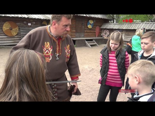 Жители МО Смольнинское посетили деревню викингов в Выборге