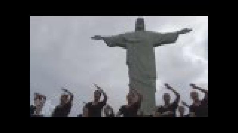 New Zealand Women's Sevens Haka in Cristo Redentor Rio Janeiro