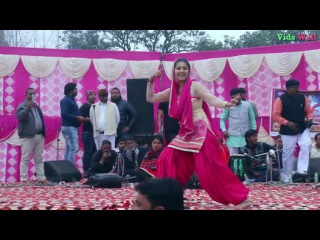 Best Dance of Sapna Choudhary on Haryanvi Song Main English Medium Padhi Hui || Sapna Live Stage Dance - Video Dailymotion