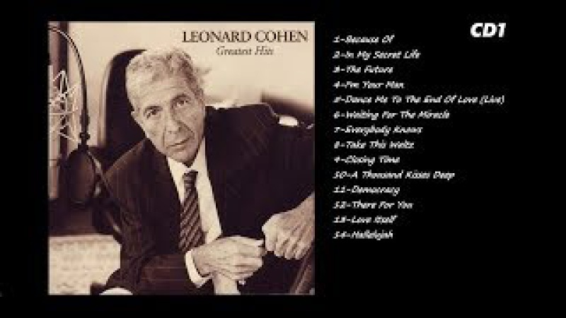 Leonard Cohen – Greatest Hits - 2008 - Cd1
