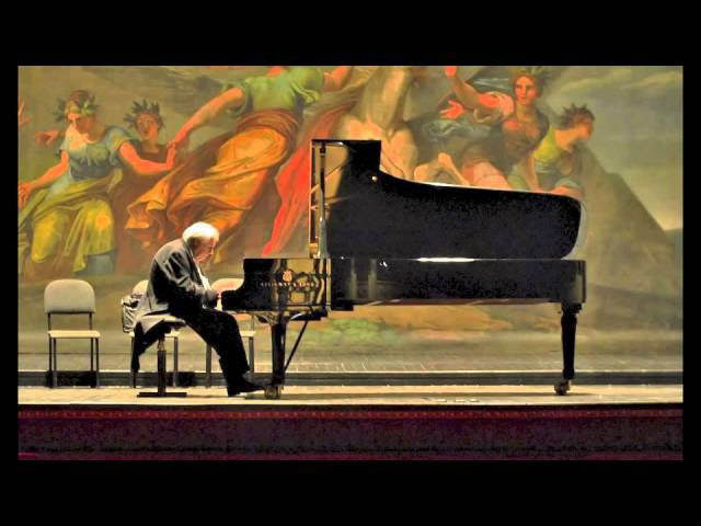 Grigory Sokolov plays Schubert Six Moments Musicaux D 780 - live 2015