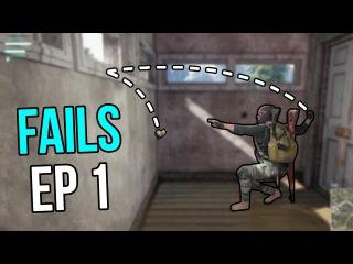 PUBG: Fails & Unlucky Moments Ep. 1 Пабг | PUBG Мемы