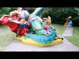 ВЛОГ поляна сказокдетские развлечения. VLOG glade of fairy tales children's entertainment.