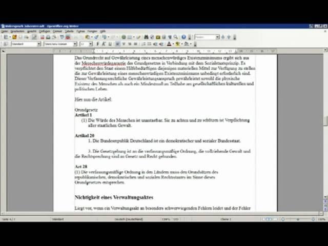 Hartz 4 ALG 2 Verwaltungsakt Widerspruch Vorlage