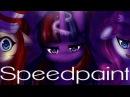 Speedpaint MLP - The Elements of Insanity