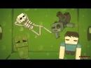 Мультики Minecraft Эпичный Квест Крипер И Стив