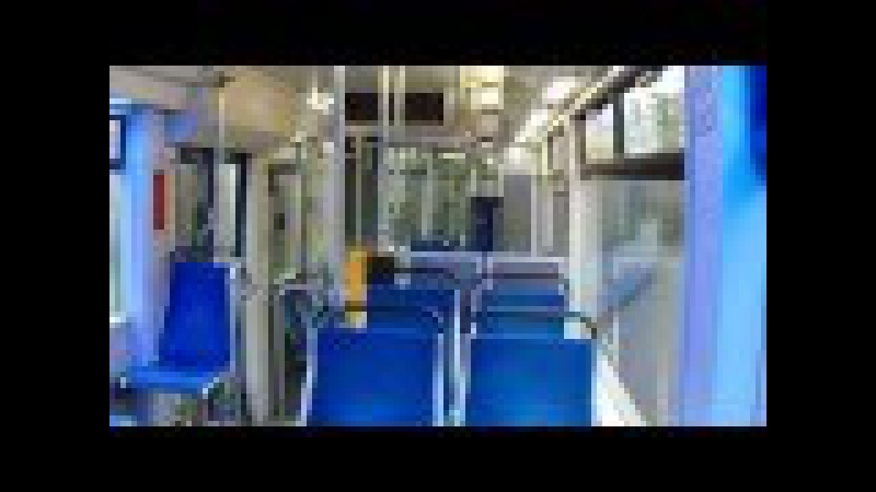 Abstand der Bahn NGTW6 auf der Wendeschleife in Leipzig-Großtschocher. Video 1