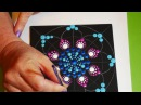 How to paint dot mandalas with Kristin Uhrig- 12 stained glass design