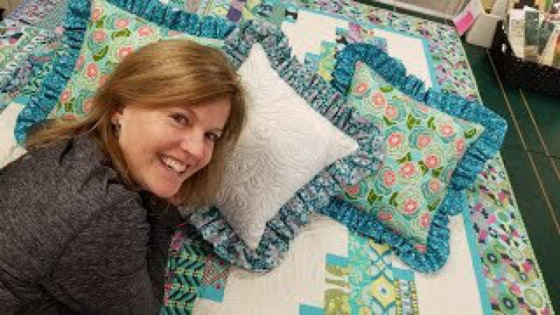 Ruffled Pillows!