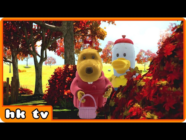 Noksu | Autumn Day More | Cartoons for Children | Funny Cartoons by HooplaKidz TV