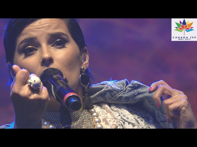 NELLY FURTADO Phoenix, Sticks Stones, Powerless @ Surrey Fusion Festival 2017 Canada 150