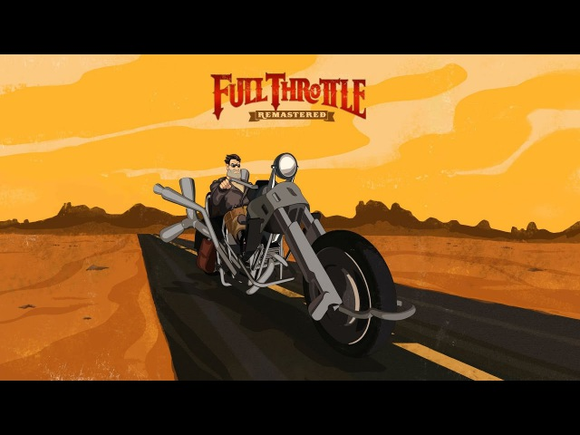 Full Throttle Remastered — Part 1 — Intro, The Kickstand on Highway 9