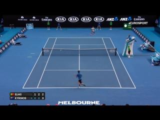Кирьос красиво и влегкую вынес какого-то португальца в первом круге Australian Open