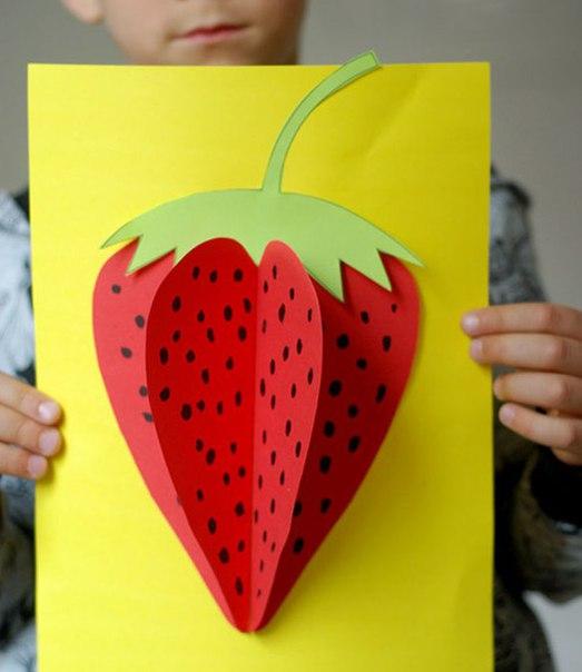 Поделка для детей ягоды 73