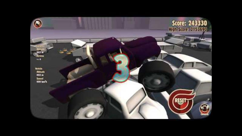 Адовые игры: Turbo Dismount (3 часть).