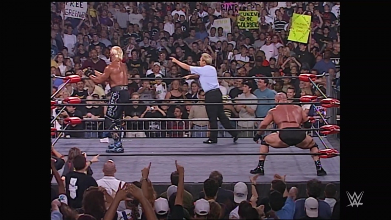 Goldberg vs. Hollywood Hogan - WCW Championship Match׃ Nitro, July 6, 1998