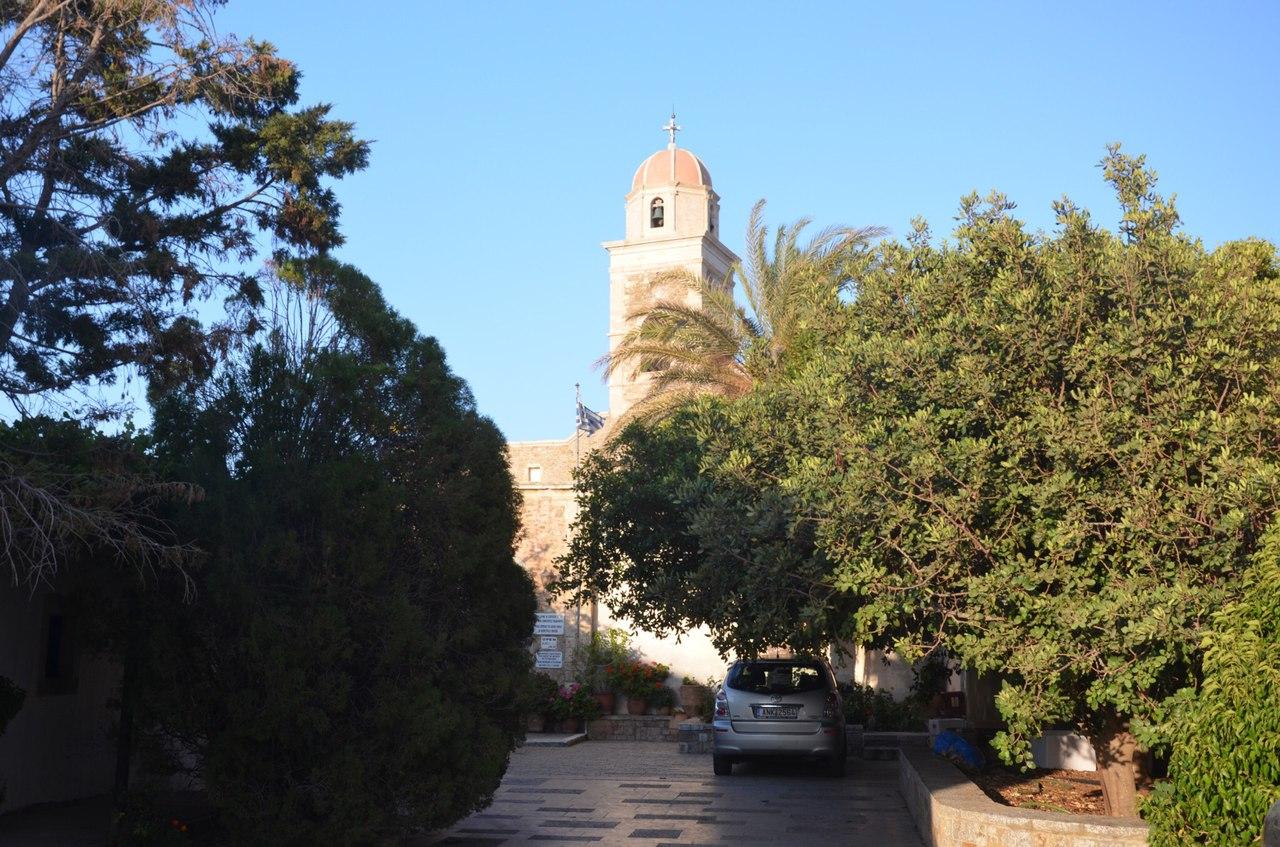 VlI-wGeR9_Q Монастырь Топлу на острове Крит (Греция).