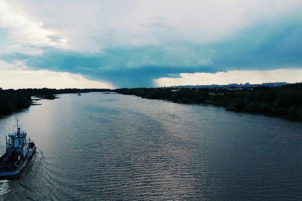 Погода в Самаре: местами дождь.