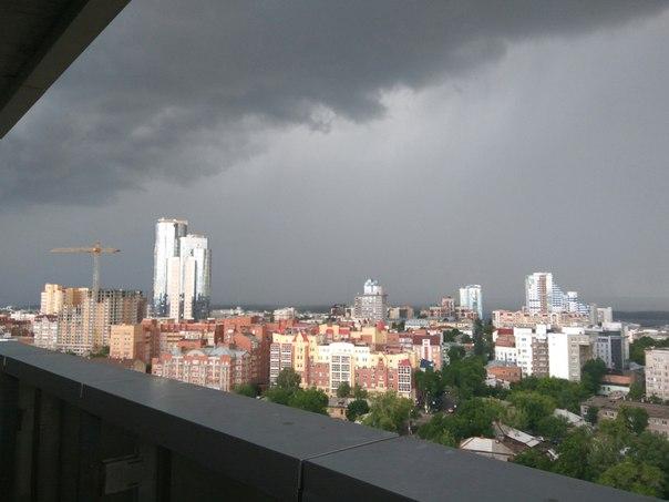 Погода в Самаре 20 июня