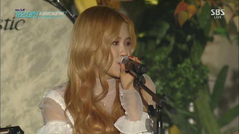 161226 10cm (십센치) X Chanyeol (찬열) X Rosé (로제) X Jihyo (지효) - Acoustic Stage (어큐스트 스테이지)