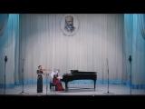 05_А. Монасыпов - Соната для скрипки и фортепиано до мажор, 1 часть