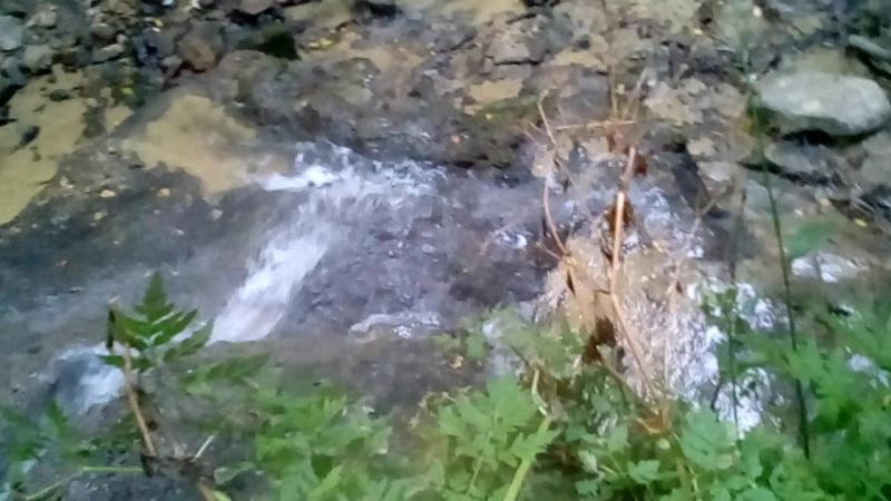 Травертиновый водопад.