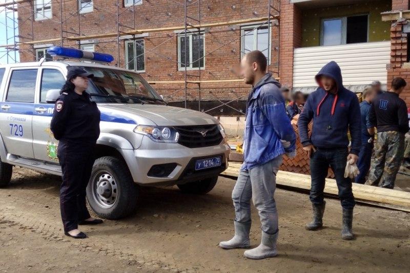 В Стрежевом задержали гражданина, находящегося в федеральном розыске