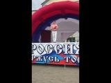 Выступление для жителей посёлка Колюбакино на день России