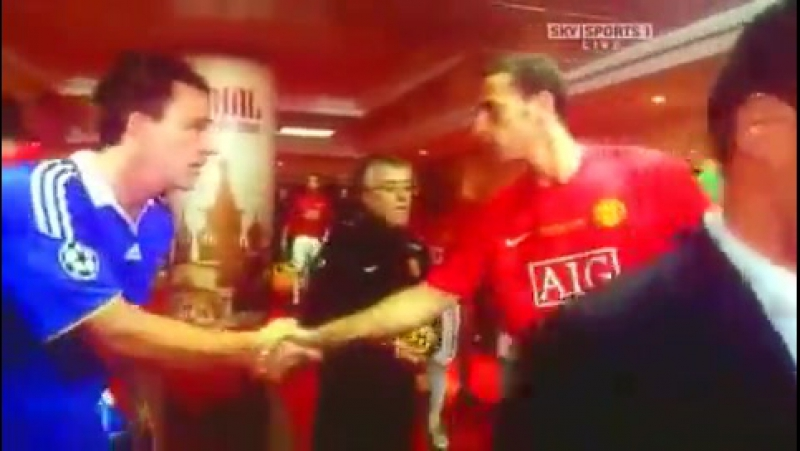 Клип посвящённый финалу Лиги Чемпионов 2007 2008 Челси Манчестер Юнайтед