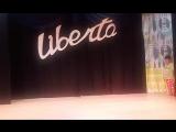 отчетный показ Юный оратор перед зрителями. сцена камерного театра ЛИБЕРТА.